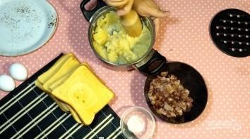 Лентяйские пирожки из хлеба - фото шаг 2