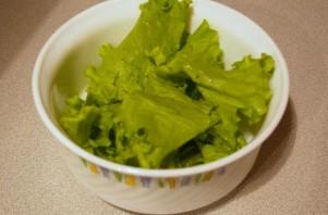 Салат с лисичками маринованными - фото шаг 1