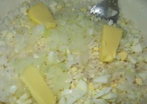 Блинчики с рисом и яйцом   - фото шаг 2