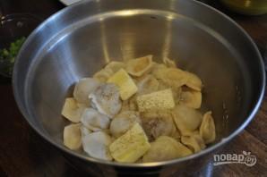 Тесто на пельмени на воде - фото шаг 7