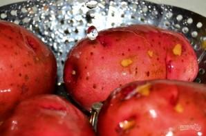 Картофель с карри в духовке - фото шаг 1