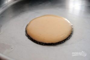 Оладушки с начинкой - фото шаг 4