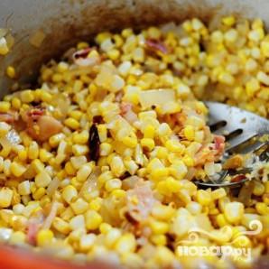 Кукурузный суп с чили - фото шаг 10