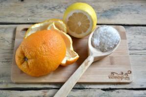 Цукаты из апельсиновых корок - фото шаг 1