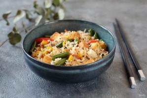 Рис с тофу и овощами - фото шаг 8