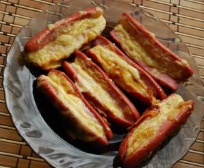 Сосиски с сыром в духовке - фото шаг 5
