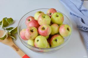 Яблоки, моченые на зиму - фото шаг 2