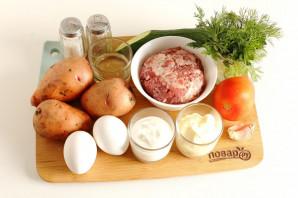 Драник-бургер - фото шаг 1