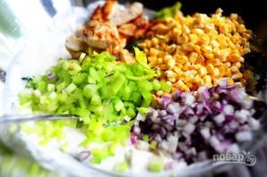 """Салат """"Курица и кукуруза"""" - фото шаг 11"""