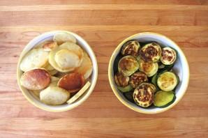 Мусака овощная запеченная - фото шаг 3