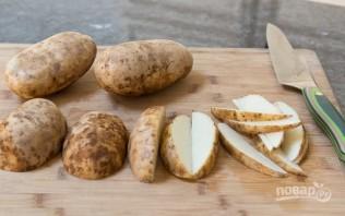 Картофельные дольки с чесноком - фото шаг 2