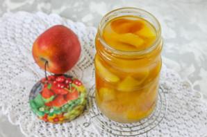Компот из яблок на зиму без стерилизации - фото шаг 7