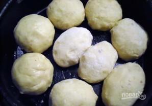 Картофельные шарики с начинкой - фото шаг 7