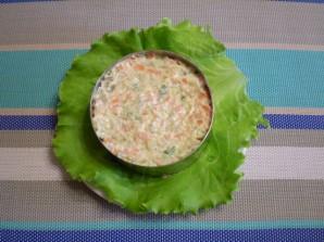 Салат Цветы - фото шаг 9