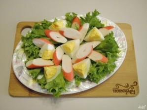 Салат с брокколи и крабовыми палочками - фото шаг 6