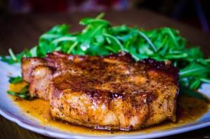 Глазированный стейк из свинины - фото шаг 6