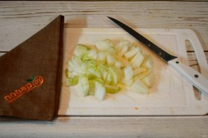 Говядина с подливкой как в садике - фото шаг 2