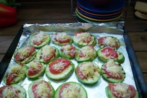 Кабачки в духовке с помидорами и сыром - фото шаг 5