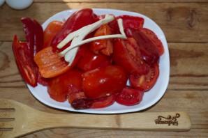 Аджика из красного перца - фото шаг 1