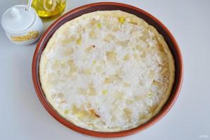 Пирог с ветчиной и стручковой фасолью - фото шаг 8
