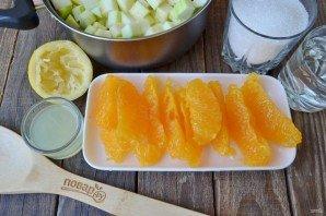 Варенье из кабачков с апельсином и лимоном - фото шаг 3