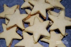 Песочное печенье с шоколадной прослойкой - фото шаг 8