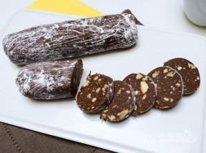 """Шоколадная колбаска """"Сладкоежка"""" - фото шаг 7"""