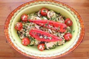 Овощи на сковороде-гриль - фото шаг 8