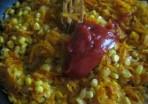 Вегетарианский плов с овощами - фото шаг 3