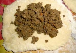 Начинка с печенью для пирожков - фото шаг 5