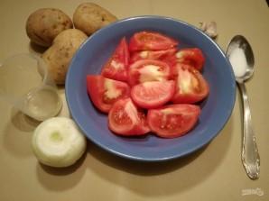 Томатно-картофельный суп-пюре в мультиварке - фото шаг 1