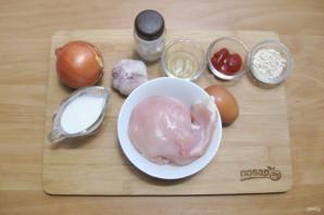Мясной куриный хлеб - фото шаг 1