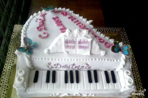 """Торт """"Пианино"""" - фото шаг 6"""
