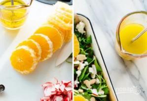 Салат с апельсином и рукколой - фото шаг 2