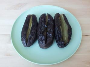 Квашеные баклажаны с капустой - фото шаг 7