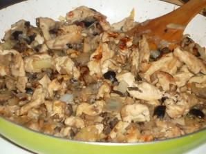 Перец, фаршированный грибами и мясом - фото шаг 7