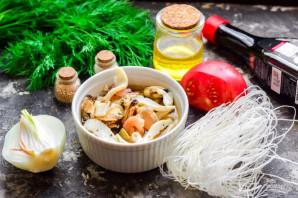 Тайский салат с морепродуктами - фото шаг 1