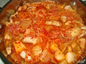 Кимчи со свининой - фото шаг 3