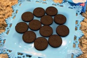 Тортик из печенья без выпечки - фото шаг 2