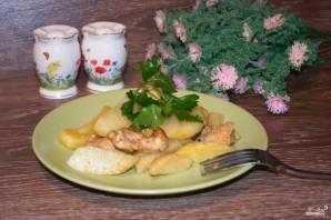 Филе индейки с картошкой в рукаве - фото шаг 5