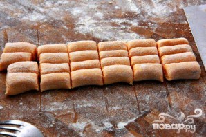 Ньокки из сладкого картофеля с сырным соусом - фото шаг 4