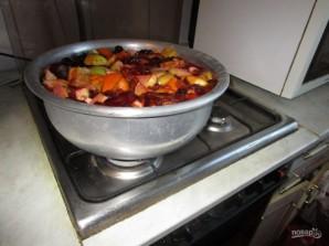 Варенье из сливы, яблока и апельсина - фото шаг 4