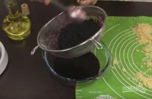 Домашний тёртый пирог с черникой - фото шаг 4