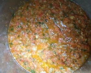 Икра кабачковая с овощами - фото шаг 7