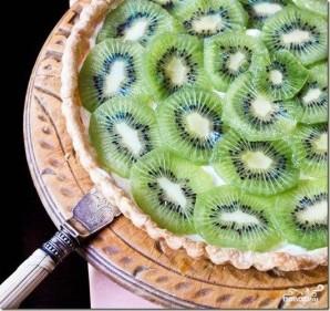 Миндальный пирог с киви - фото шаг 6