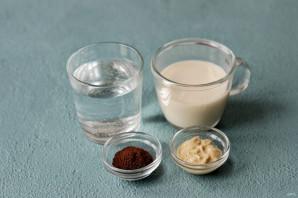 Кофе с арахисовой пастой - фото шаг 1