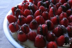 Быстрый пирог с малиной - фото шаг 7