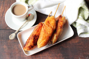 Сосиски в панировке с сыром - фото шаг 10