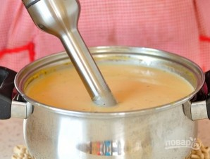Суп-пюре из креветок - фото шаг 6