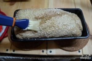 Домашний хлеб на закваске в духовке - фото шаг 6